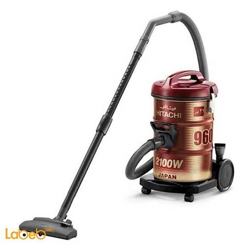 CV-960Y Hitachi vacuum cleaner Powerful red and gold