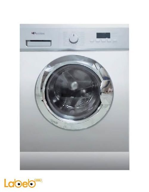 National Electric Washing Machine - 8Kg - 1200rpm - 8G1283SM6