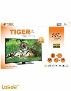 Tiger LED TV - 55 Inch - 1080x1920p -Black - Model 55LED-LE5529