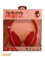 Skullcandy Hesh 2 Headsets on Ears red color SCS6HSDZ-161