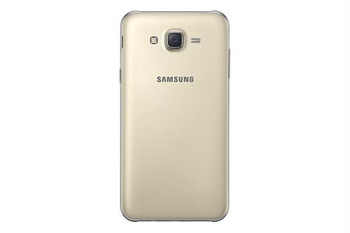 Samsung Galaxy J7 Smartphone back Gold color