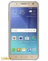 Gold Samsung Galaxy J7 Smartphone
