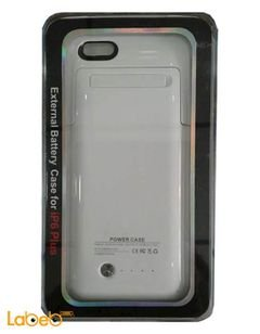 POWER CASE External Battery case for iPhone 6 plus - white color