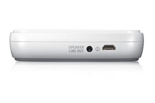 خلفية قاعدة شاحن لأجهزة سامسونج ميكرو USB لون ابيض Edd-D200we