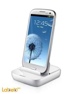Samsung Desktop Dock - Micro USB - white color - Edd-D200we