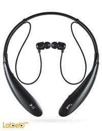 سماعات لاسلكية LG بلوتوث 3.0 لون اسود HBS-800