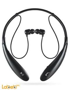 LG tone + headset - bluetooth 3.0 - black color - HBS-800