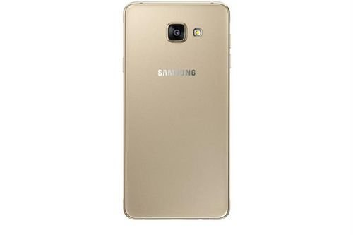 Samsung Galaxy A7(2016) smartphone back Gold