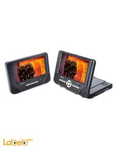 Pro Line Dvd car monitor - 7inch - twin screen - DVDP250W