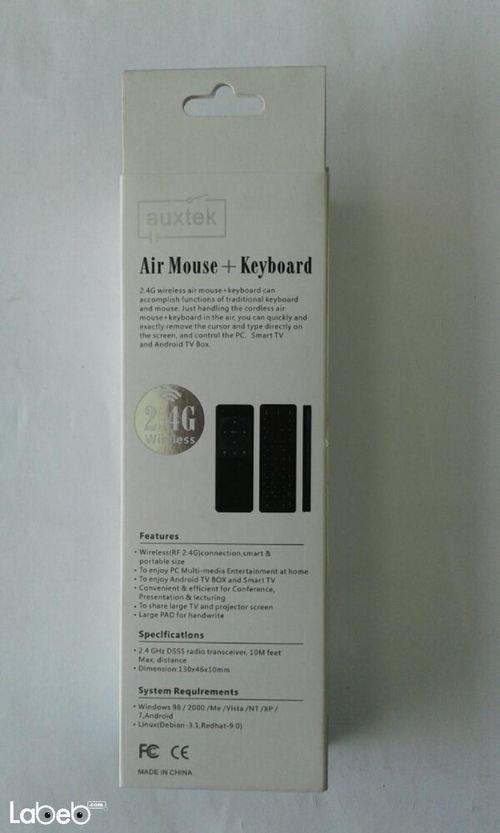 مواصفات ماوس وكيبورد هوائي Auxtek لاسلكي AM11