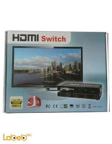 سويتش HDMI 4.1 - فل اتش دي 1080 بكسل - ثلاثي الابعاد - HDMI-501