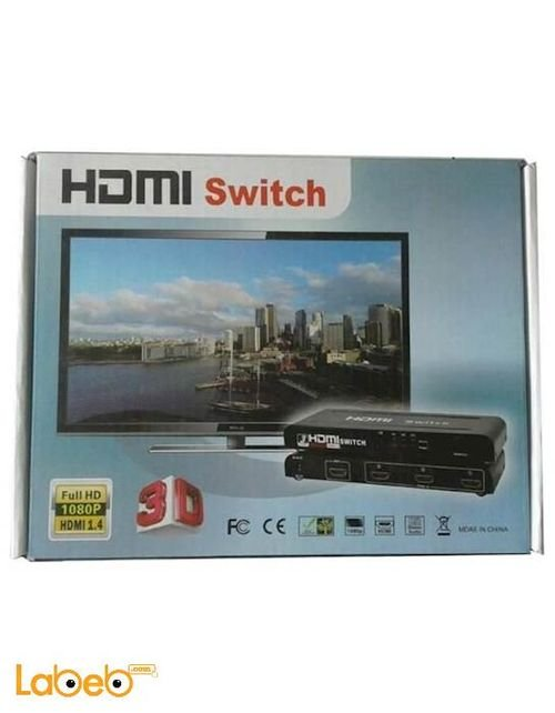 سويتش HDMI 4.1 فل HD 1080 بكسل HDMI-501