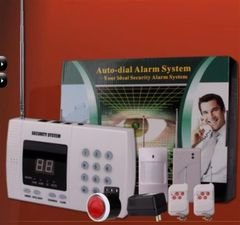 نظام إنذار Heacent لاسلكي - 2.6 انش - شريحة سيم/ خط تلفون- AD001