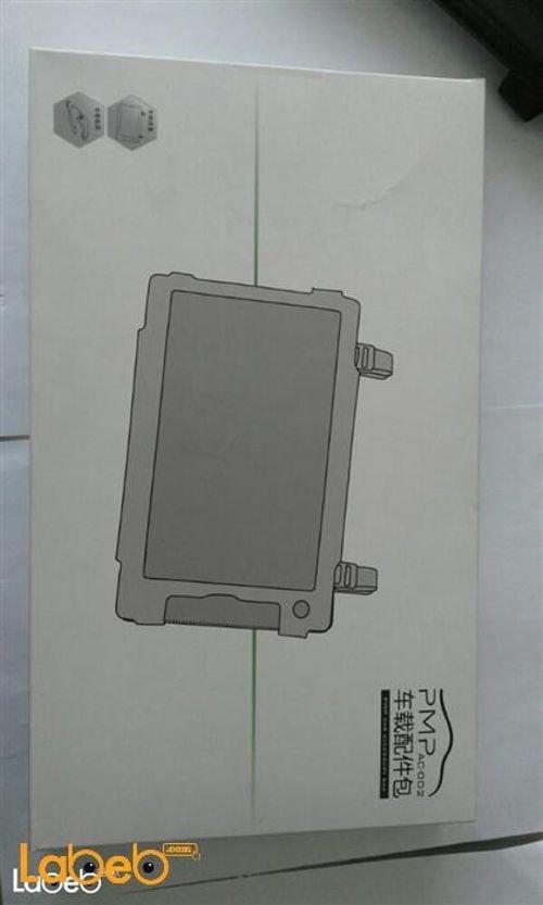غطاء تابلت وشاحن للسيارة PMP AC-002 أسود