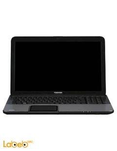 لاب توب توشيبا C850D - شاشة 15.6 انش - 2GB رام - فضي - C850D-B604