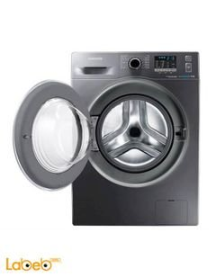 Samsung Washing Machine - 8Kg - 1400Rpm - Silver - WF80F5EHW4X/FH
