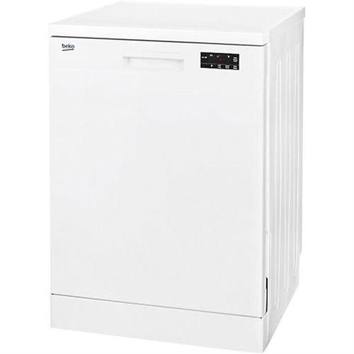 White color Beko dishwasher 12 seats DFN16210W