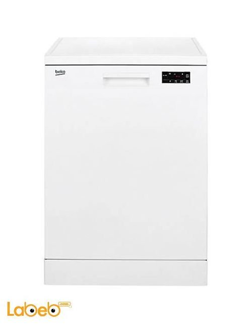 White Beko dishwasher 12 seats DFN16210W