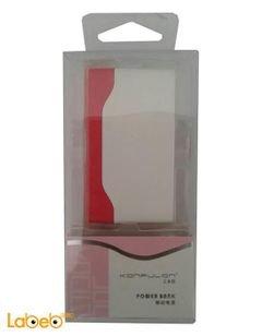 بطارية محمولة Konfulon يونيفرسال - 5000mAh - أحمر - Y1304