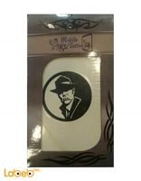 Mobile Tatto cowboy man picture White and Black