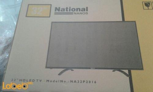 شاشة LED ناشيونال نانوس 32 انش NA32P2016