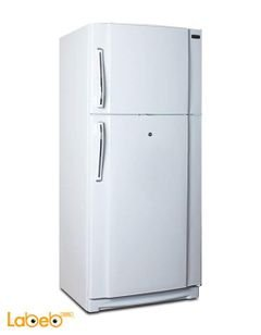 Federal Refrigerator top freezer - 549 liters - White - TN-2600