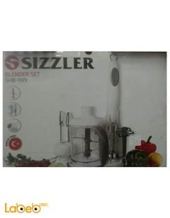 Sizzler blender set - egg beater - metal stick blender - SHB-999