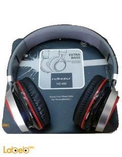 سماعات رأس Hanizu - للموبايلات والايبود - لون أسود - HZ-460