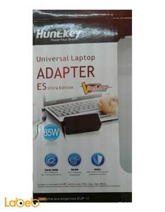 Huntkey laptop Universal Adapter - 65 watt - black color