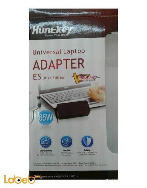Huntkey laptop Adapter Universal 65 watt