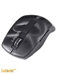Besta Wireless Optical Mouse - 2.4GHz - Black - X2 Model
