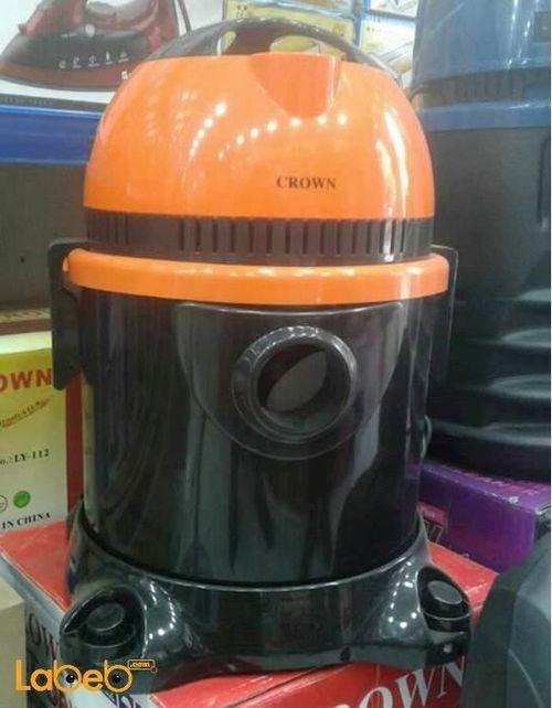 مكنسة كهربائية كراون HF3661F لون برتقالي وأسود