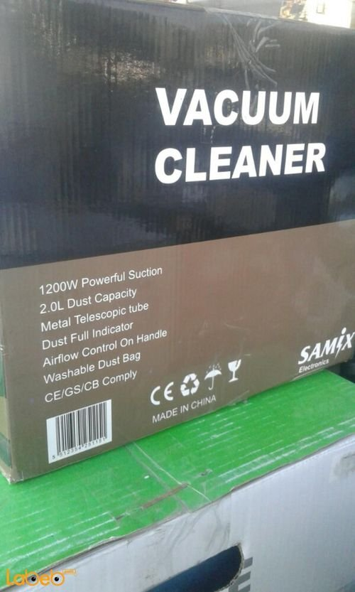 SNK-1208 Samix vacuum cleaner Specifications