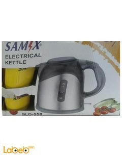 Samix electrical kettle - 2000W - silver - 2 cups - SLD-558