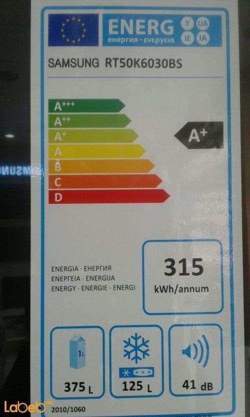 مواصفات ثلاجة سامسونج RT50K6030BS لون اينوكس اسود