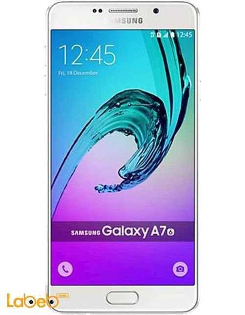 Samsung Galaxy A7(2016) smartphone screen 16GB White