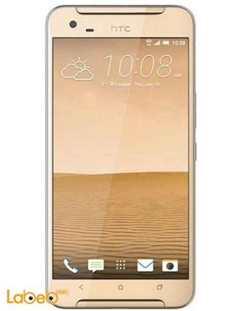 Gold HTC X9 Dual Sim smartphone 32GB