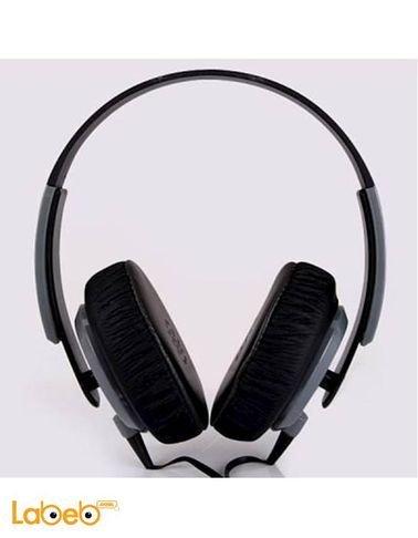 سماعة رأس سلكية يونجل لون رمادي موديل YL-EP12
