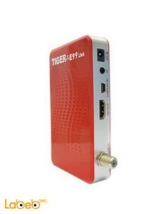 Tiger receiver E99 HD Link - Full HD 1080P - USB - Red color