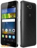 Black Huawei Y6 pro smartphone
