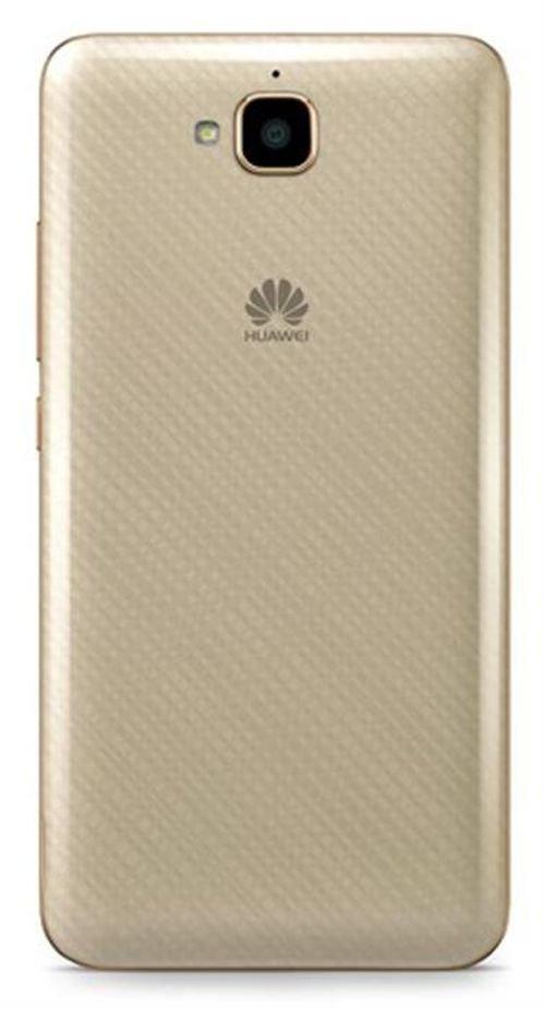 gold Huawei Y6 pro smartphone back TIT-U02