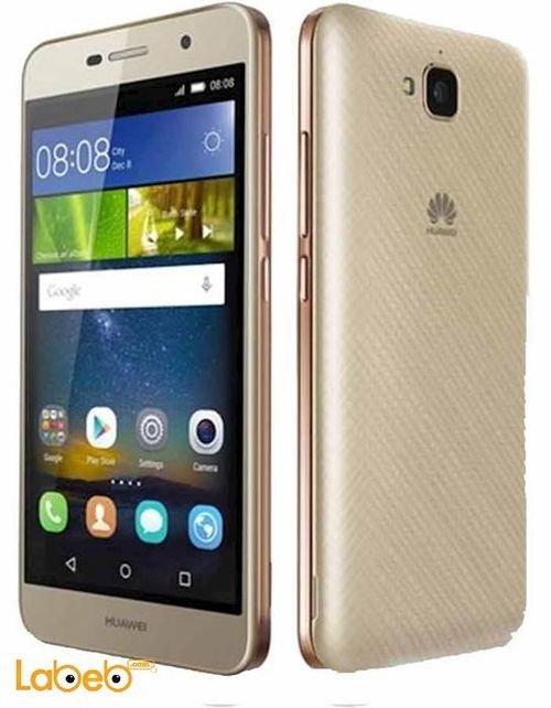 gold Huawei Y6 pro smartphone TIT-U02