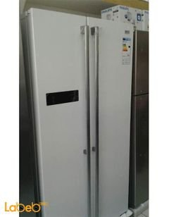 National Electric Side by Side Refrigerator - 527L - white - 750FM6