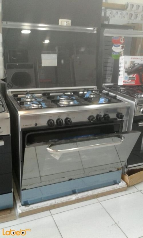 stainless steel 010n2 ARISTON free standing oven