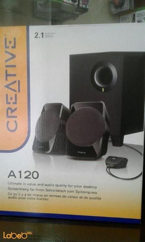 علبة سماعات ومكبر صوت كرييتيف SBS A120
