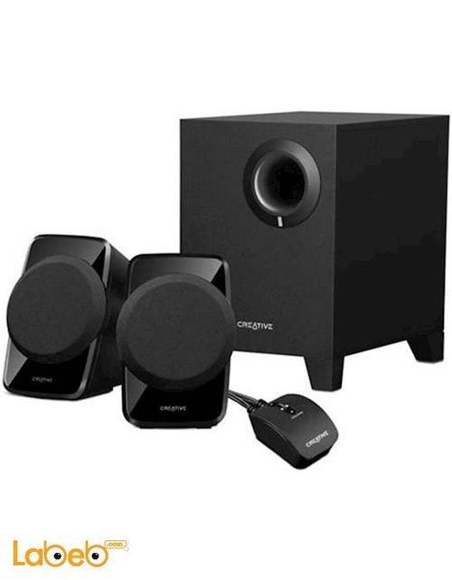 سماعات ومكبر صوت كرييتيف A120 مع جهاز تحكم