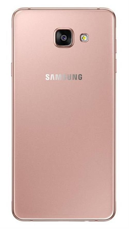 pink Samsung Galaxy A7(2016) 16GB back