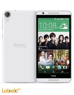 موبايل HTC ديزاير 820G بلس - دوال سيم - 16 جيجابايت - أبيض - +820G