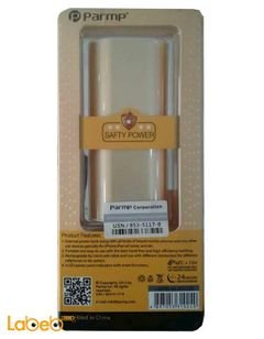 Parmp power bank - 5200mAh - Gold color - mpb-alm5200