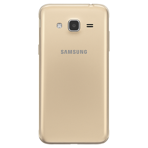 Samsung Galaxy J3 (2016) smartphone 8GB 5inch Gold back